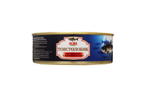 Товстолобик в томатному соусі Alba ж/б 240г