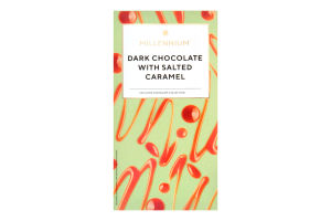 Шоколад чорний з начинкою Millennium к/у 100г