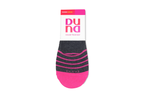 Шкарпетки жіночі Color your day Duna темно-сірі 21-23