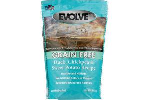Evolve Grain Free Dog Food Duck, Chickpea & Sweet Potato Recipe