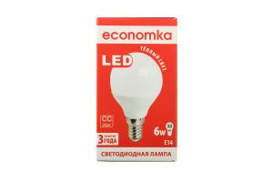 Лампа світлодіодна Economka LED G45 6W E14 2800K 1шт