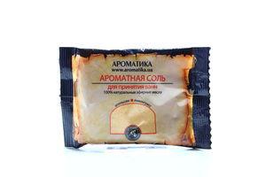 Соль для ванн апельсин-лемонграсс Ароматика 100г