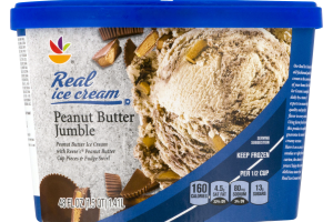 Ahold Real Ice Cream Peanut Butter Jumble