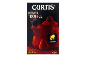 Чай чорний байховий ароматизований French Truffle Curtis к/у 90г