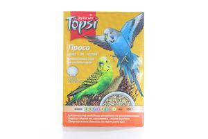 Корм витаминный для волнистых попугаев Просо Topsi 550г