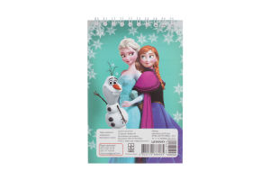 Блокнот для заметок Ранок Frozen А6 твер.об 50 стр