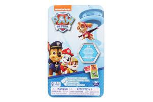 Гра настільна для дітей від 4 років Доміно Щенячий патруль Spin Master 1уп