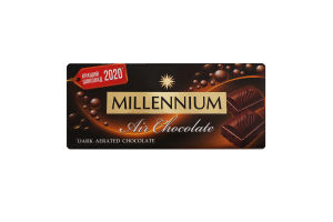 Шоколад чорний пористий Millennium м/у 85г