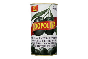 Маслины с косточкой Coopoliva ж/б 350г