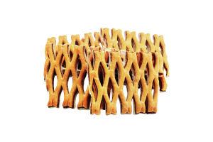 Печиво здобне листкове з білою глазур'ю Сенсація Бом-Бік кг