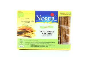Хлебцы хрустящие из злаков Organic Nordic 100г