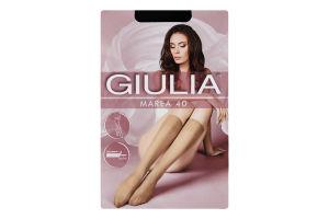Гольфи жіночі Giulia Marea 40den 23-25 nero 2пари