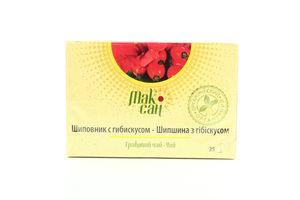 Чай МакСан органічний Шипшина з гібікусом 25*2,5г