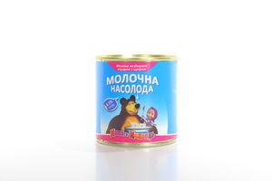 Молоко зг.8,5% Маша і Медвідь з/б 370г