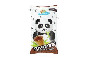 Мороженое 15% пломбир шоколадный в вафельном стаканчике Геркулес м/у 70г