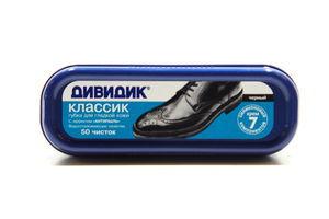 Губка д/взуття Дівідік Классік чорна