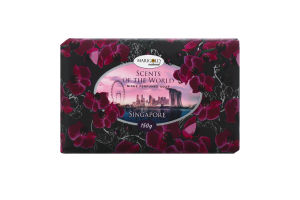 Мыло туалетное Scents of the World Singapore Marigold natural 150г