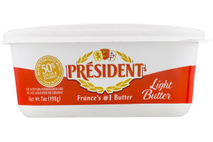 President Light Butter Salted