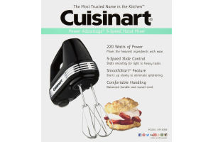 Cuisinart Power Advantage 5-Speed Hand Mixer Cuisinart(86279025371