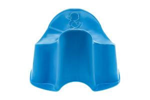 Горшок ночной для детей 18-36мес голубой Комфорт Утенок Keeeper 1шт