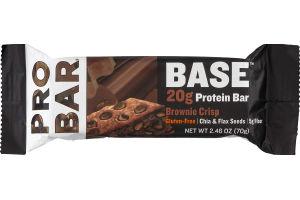 PROBAR Base 20g Protein Bar Brownie Crisp