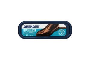 Губка д/взуття Дівідік Классік коричнева
