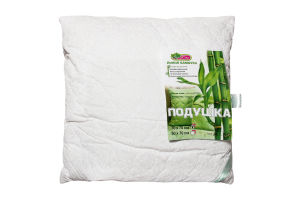 Подушка ЭкоТекс бамбук/хлопок 70*70см