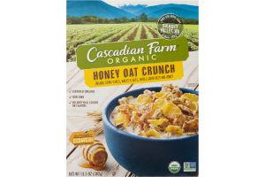 Cascadian Farm Organic Honey Oat Crunch Corn Flakes