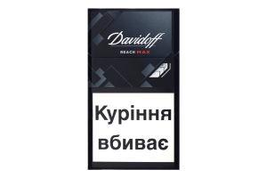 Сигареты с фильтром Reach Max Davidoff 20шт