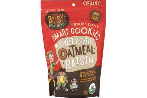 Bitsy's Brainfood Alphabet Shapes Smart Cookies Sweet Potato Oatmeal Raisin