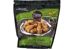 Empire Kosher Party Wings Battered and Breaded