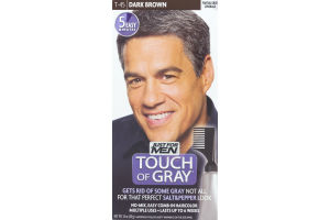 Just For Men Touch Of Gray Easy Comb-In Haircolor T-45 Dark Brown