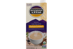 Oregon Chai Organic Chai Tea Latte Salted Caramel