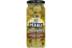 Pearls Specialties Queen Olives Jalapeno Stuffed
