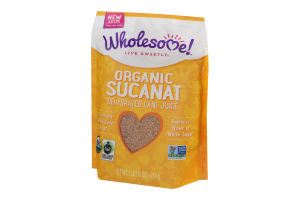 Wholesome! Organic Sucanat Dehydrated Cane Juice