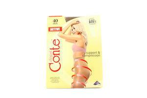 Колготы женские Conte Active 40den 3 bronz