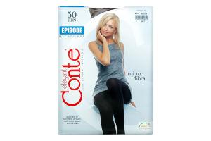 Колготки жіночі Conte Episode 50den 4-L mocca