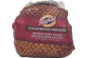 Hatfield Hardwood Smoked Boneless Pork Shoulder Picnic