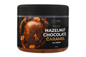 Морозиво вершкове Hazelnut&Chocolate&Caramel Spell п/б 300г