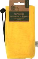 Торбинка для овочів та фруктів багаторазова Nova Авоська 1шт