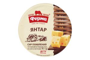 Сир плавлений 60% пастоподібний Янтар Ферма п/у 90г