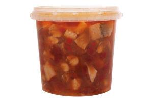 Сельдь филе-ломтики в томатном соусе По-Итальянски Skadi ведро 1.1кг