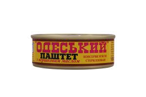 Паштет со сливочным маслом Одесский Онисс ж/б 100г