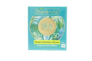 Крем для лица увлажняющий Морские водоросли 50+ Bielenda 50мл