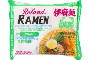 Roland Ramen Noodles Crab