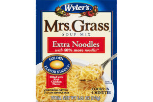 Wyler's Mrs. Grass Soup Mix Extra Noodle - 2 CT