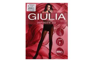 Колготки жіночі Giulia Infinity 40den 4-L cappuccino