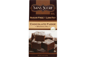 Sans Sucre Brownie Mix Chocolate Fudge Sugar Free