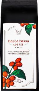 """Кава натуральна смажена в зернах """"BACCA ROSSA"""" 250 грам"""