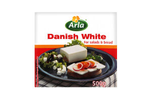 Сыр Arla Danish White 50% т/п 500г